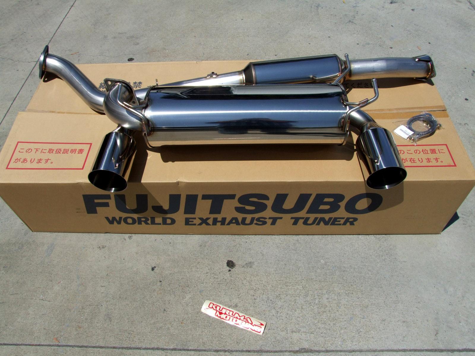Holy Grail - 350z Fujitsubu Legalis R exhaust - Nismo S Tune